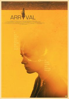 Arrival (Denis Villeneuve, 2016) Alternative Poster by Gokaiju