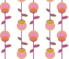 thistle fabric by akwaflorell on Spoonflower - custom fabric