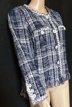 #twitter#tumbrl#instagram#avito#ebay#yandex#facebook #whatsapp#google#fashion#icq#skype#dailymail#avito.ru#nytimes #i_love_ny #cnn # BBCBreaking #  BBCWorld #  cnnbrk # nytimes # globaltimesnews #  Chanel Black White Plaid CC Chain Button Blazer Size  #Chanel #Blazer