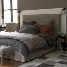 25 t tes de lit pour tous les styles deco style and search - Tete de lit matelassee ...