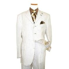 1920's suit style - I love this, but the man wearing a white suit on his wedding day? Hmm... not sure