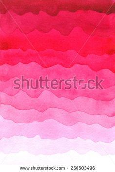 Pink watercolor background. Hand painted