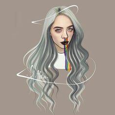 Billie -lorena álvarez 👑 billie eilish в 2019 г. Billie Eilish, Wallpapers Ipad, Cute Wallpapers, Cute Drawings, Pencil Drawings, Album Cover, Tumblr Wallpaper, Music Artists, Cover Art
