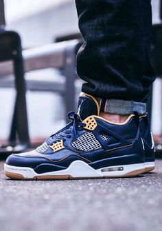 more photos ee3ec 25c0e Air Jordan 4 Retro Mid   Navy Nike Free Shoes, Nike Shoes Outlet, Urban