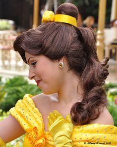 Disney Marathon | Princess Belle hair ideas