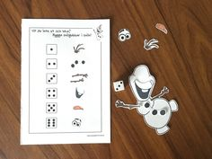 Print your own Olaf-game (in swedish).