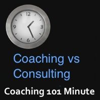 Coaching vs Consulting - What's the difference?