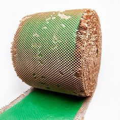Green and Brown Protective Paper Cushioning Wrap useful for shipping Christmas items!