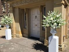 Venue Decorations | Vickys Flowers - Wedding Flower service with style and creativity | East Calder , West Lothian Flower Service, Wedding Flowers, Creativity, Decorations, Style, Deko, Embellishments, Decor, Wedding Ceremony Flowers