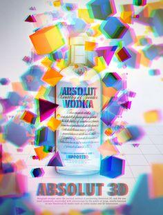 Absolut Vodka by Panneton Francis, via Behance