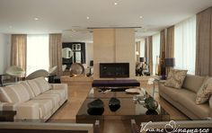 Living room by Viviane Dinamarco