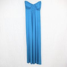 FULL TILT - Strapless Maxi Dress Sky blue/turquoise maxi dress. Never been worn. 95% Rayon 5% spandex. Extremely comfy & easy to slip on. ❌TRADES❌ Tilly's Dresses Maxi