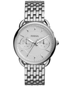 Fossil Women's Tailor Stainless Steel Bracelet Watch 35mm ES3712 - Watches - Jewelry & Watches - Macy's