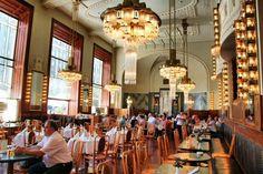 Café de la casa municipal de Praga
