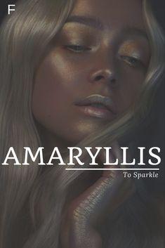 Amaryllis meaning To Sparkle #babynames #characternames #anames #girlnames Best Character Names, Fantasy Character Names, Baby Girl Names Unique, Cute Baby Names, Unusual Words, Rare Words, Girl Names With Meaning, Unique Names Meaning, Female Names