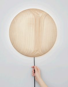 Polish designer and curator Maria Jeglinska, has designed new collection of wooden lightning and accessories to present it on Salone del Mobile in Milan next week.