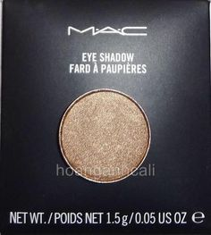 MAC eyeshadow refill for pro pan palette WOODWINKED light brown w/ gold shimmer