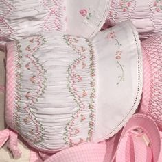Smocked Sun Bonnet