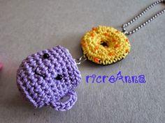 Dolci portachiavi amigurumi Sweet keychain amigurumi