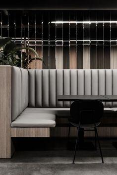 restaurant einrichtung COCOON restaurant design in - restaurant Australian Interior Design, Interior Design Awards, Interior Design Inspiration, Decor Interior Design, Furniture Design, Interior Decorating, Modern Interior, Midcentury Modern, Eclectic Modern
