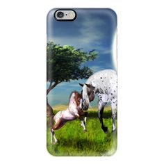 Horses Love Forever - iPhone 6s Case,iPhone 6 Case,iPhone 6s Plus... ($40) ❤ liked on Polyvore featuring accessories, tech accessories, iphone case, apple iphone cases, clear iphone cases, slim iphone case, iphone cover case and iphone cases