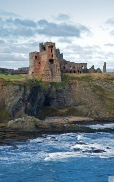 Tantallon Castle, East Lothian ~ Rising from the cliffs, this majestic castle provides stunning views across the Firth of Forth.