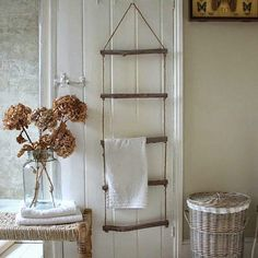 Leitern sind nicht nur zum Klettern da...10 tolle Dekorationsideen mit Leitern - Seite 2 von 10 - DIY Bastelideen