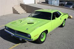 1970 PLYMOUTH BARRACUDA HEMI 'CUDA Maintenance/restoration of old/vintage vehicles: the material for new cogs/casters/gears/pads could be cast polyamide which I (Cast polyamide) can produce. My contact: tatjana.alic@windowslive.com
