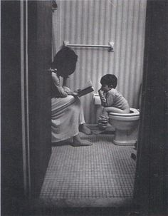 I have many special moments and deep talks with my boys...in the bathroom...lol