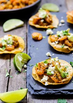 Sometimes you just need a really tasty dish that gets to the table in under 30 minutes!! Well...these fresh and bursting with flavor Chimichurri Shrimp and Avocado Mini Tostadas are the real deal! http://www.mommyshomecooking.com