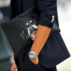 Fierce fashion! #Givenchy #StreetStyle