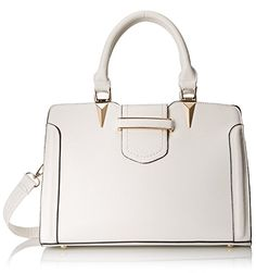 MG Collection Carys Tote Shoulder Bag White One Size *** See this great product. Cute Handbags, Purse Styles, Womens Purses, Season Colors, Bago, Tote Purse, Evening Bags, Purses And Bags, Collection