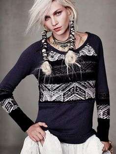 White Blonde Braided pigtails, pigtail braids, wrapped with ribbon or string, as seen in Free People.