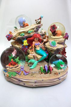 Disney Little Mermaid Snow Globe