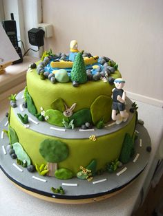Outdoors birthday cake — Birthday Cakes