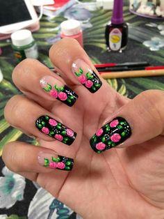 Cute Toe Nails, Aycrlic Nails, Hot Nails, Nail Manicure, Hair And Nails, Perfect Nails, Gorgeous Nails, Pretty Nails, Beautiful Nail Designs