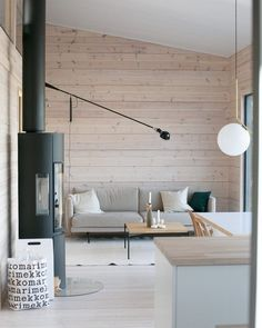 Sauna House, Plywood Interior, Log Home Interiors, Weekend House, Eclectic Living Room, Cabin Design, Aesthetic Room Decor, Minimalist Living, Log Homes
