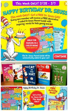 Limited Time Offer – 5 Dr Seuss Books $5.95 and TWO FREE Dr Seuss Gifts #drseuss #hotdeals
