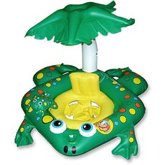 Wet and Wild Toys for Summer: Learn to Swim Frog Seat from Toys R Us.