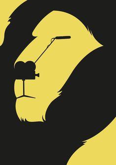Designer cria ilustrações brilhantes utilizando apenas os espaços negativos - Publicitários Criativos