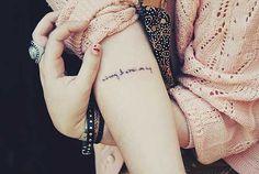 Tatuagens de Frases: no Braço, para Casal, em Português