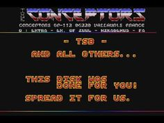 Atari ST games /|\ AtariCrypt: Intro by The Conceptors Logo Slime, Games, Plays, Gaming, Toys, Spelling, Game