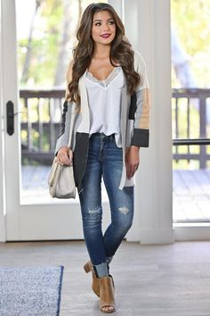 ladies fashion ideas which look cool. Autumn Outfits Curvy, Casual Fall Outfits, Classy Outfits, Spring Outfits, Trendy Outfits, Clothes For Women In 30's, Plus Size Fall Outfit, Curvy Girl Fashion, Trends