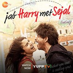 Sejal loses her engagement ring on a trip, enlists the help of Harry, a flirtatious tour guide, in order to retrieve it and eventually falls in love . Watch #JabHarryMetSejal starring @iamsrk & @AnushkaSharma , now on Catch-up of @ZeeTVAPAC  #YuppTVAPAC Tv Channels, Full Episodes, Losing Her, Tour Guide, Falling In Love, The Help, Engagement Ring, Australia, Indian