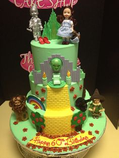 Wizard of Oz cake by Exclusive Cake Shop, via Flickr