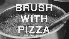 brush with pizza Food Film, Film Inspiration, Chris Cornell, Sicilian, Art Pictures, Pizza, Marilyn Manson, York, Dolls