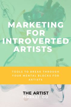 How to Do Video Marketing for Introverted Artists Sales And Marketing, Business Marketing, Online Marketing, Marketing Ideas, Business Planning, Business Tips, Online Business, Instagram Artist, Instagram Story