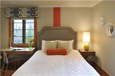 Classic Contemporary Bedroom by Jamie Beckwith