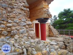 OLYMPUS DIGITAL CAMERA Santorini, Minoan, Crete Greece, Olympus Digital Camera, Palace, Restoration, Island, Building, Buildings