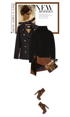 """Tuesdays - 10.11.15"" by matilda66 ❤ liked on Polyvore featuring H&M, Anthony Vaccarello, Proenza Schouler and Burberry"